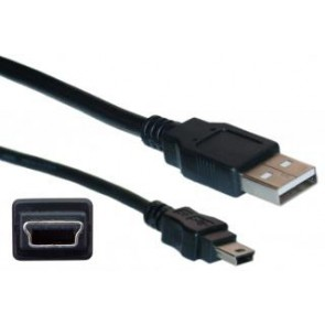 6ft Console Cable With Usb Type A & Mini-b