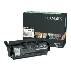 TONER T650  T652  T654 HIGH YIELD RETURN PROGRAM PRINT