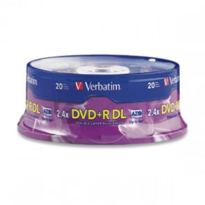 DVD+R DL 8.5GB 2.4X VBTM 20PK SP