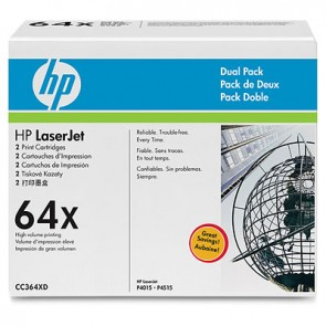 HP LASERJET CC364X DUAL PACK PRINT CARTRIDGES