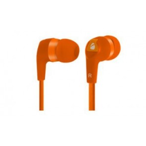 Earbuds Hi-fi Cable Plano 3. 5mm Xplotion Naranja Eb800 Acteck