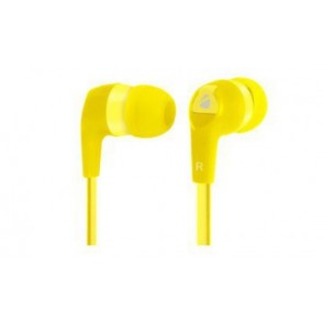 Earbuds Hi-fi Cable Plano 3. 5mm Xplotion Amarillo Eb800 Acteck