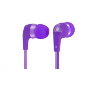 Earbuds Hi-fi Cable Plano 3. 5mm Xplotion Morado Eb800 Acteck