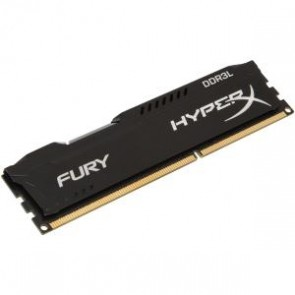 Hyperx Fury Black 8g Dimm Ddr3l-1600 Cl10