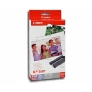 KIT CASETTE Y PAPEL(KP-36IP) P/SELPHY CP780 (PAQ.36HOJAS)