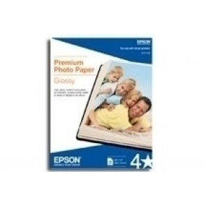 PAPEL BORDERLESS PREMIUM GLOSSY PHOTO 20 HOJAS 5 X 7