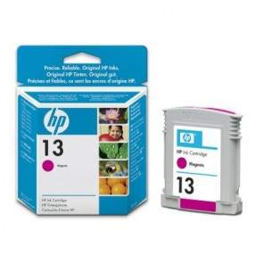 HP 13 MAGENTA INK CARTRIDGE .