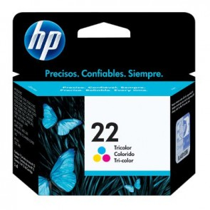 HP 22 TRI-COLOR INK CARTRIDGE LAR