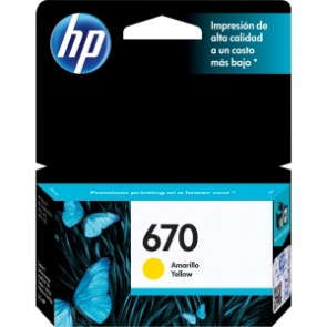 HP 670 YELLOW TIJ 4.X  LAR .