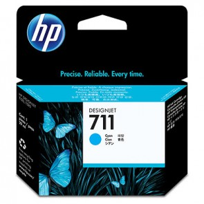 HP 711 29-ML CYAN DESIGNJET INK CARTRIDGE