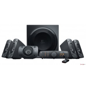 BOCINAS LOGITECH Z906 5.1 THX 500 WATTS RMS PC/MAC/MP3/IPOD/DVD