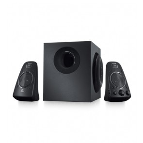 Bocinas Logitech Z623 2.1 Th 200 Watts Rms Pc/mac/mp3/ipod/dv