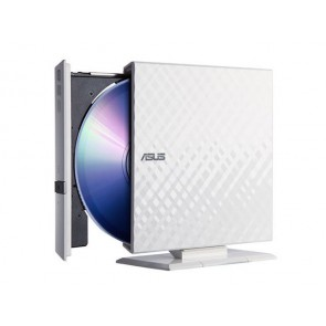 DVD-RW EXT SLIM ASUS 8X USB BLANCO INCLUYE:CYBERLINK POWER