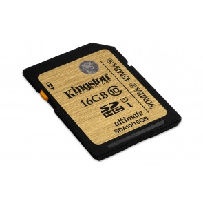 Kingston 16gb Sdhc Clase 10 Uhs -i Ultimate