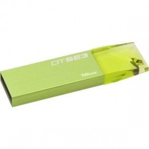Kingston 16g Usb Datatraveler Se3 Verde Azul