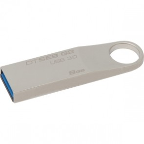 Kingston 8g Usb 3.0 Datatravele Se9 G2 Metal