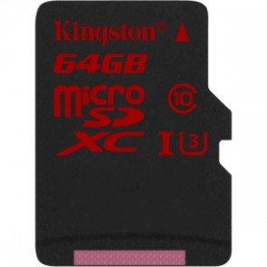 Kingston 64g Micro Sdxc Uhs-i C Clase 3 (u3) Sin Adaptador