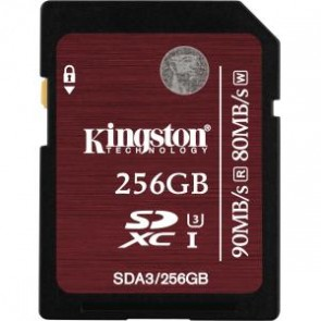 Kingston 256g Sdxc Uhs-i Clase 3