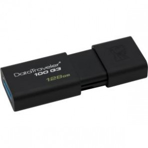 Kingston 128gb Usb 3.0 Datatrav Eler 100 G3 Negro