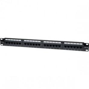 Panel Parcheo Cat 5e 24 Ptos 1 Niv. Rack