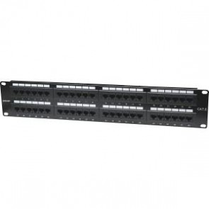 Panel Parcheo Cat 6  48 Ptos 2 Niv. Rack