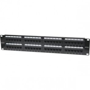 Panel Parcheo Cat 5e 48 Ptos 2 Niv. Rack