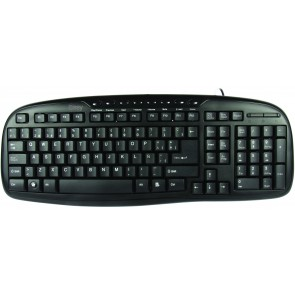 TECLADO MULTIMEDIA CORE USB .