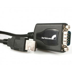 CABLE PROFESIONAL 0.3M USB A SERIAL RS232 DB9 RET PUERTO COM