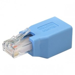 Adaptador Rollover/consola Cisco Cable Rj45 Ethernet M/h