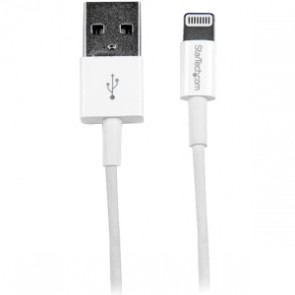 Cable 1m Lightning Apple Ipod Ipad Iphone 5 A Usb 2.0 Blanco