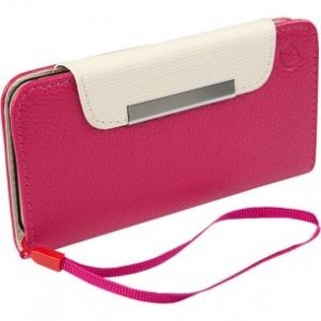 IPHONE 6 - WRISTLET HOT PINK/IV ORY