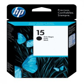 HP 15 BLACK INK CARTRIDGE LAR .