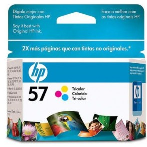 HP 57 TRI-COLOR INK CARTRIDGE LAR
