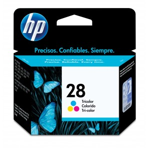 HP 28 TRI-COLOR INK CARTRIDGE LAR